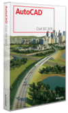 Как выглядит AutoCAD Civil 3D 2011