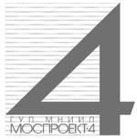 Логотип ГУП МНИИП «Моспроект-4»