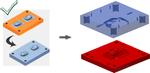 Объединение пуансона/матрицы в пластины пресс-формы