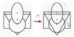 Динамическое удлинение геометрии эскиза