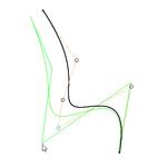 Изменение геометрии в 3D-эскизе аналогично изменению геометрии в 2D-эскизе.
