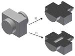 Удаление внутренних полостей для производных компонентов