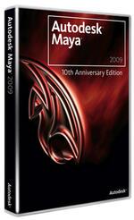 Autodesk Maya Unlimited 2009 по сниженным ценам при покупке вместе с годовой подпиской на обновления уровня Gold