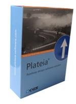 Дорожные знаки и разметка, островки и области кругового движения, автобусные остановки, анализ траекторий в плане и профиле в Plateia, модуль «Транспорт» (включая Autopath)