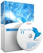 Raster Arts: обработка сканированных изображений; перевод бумажного архива в электронный вид