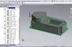 SolidCAM. Фрезерование 2.5D. Обработка контура по спирали