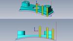 SolidCAM. Фрезерование 2.5D. Обработка 3D-контура