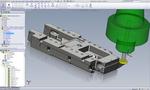 SolidCAM. Фрезерование 2.5D. Обработка паза