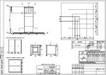 Конструктивный чертеж столбчатого фундамента