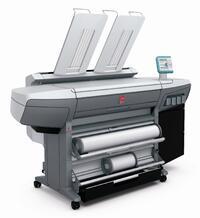 Как выглядит Широкоформатный цветной принтер Oce ColorWave 300