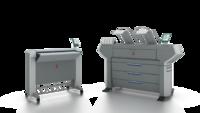 Как выглядит Цифровая система цветного сканирования, печати и копирования Oce ColorWave 600/650