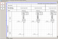 Схема внешних электрических проводок (фрагмент)