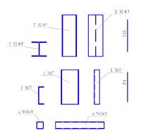 Рис. 4. Отображение профилей