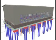 Комплексная трехмерная и информационная модель магистральной насосной