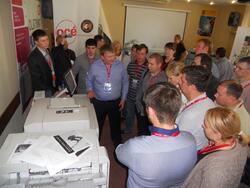 Oce VarioPrint DP Line - Инновационная высокопроизводительная система печати/копирования/сканирования с настоящей цифровой технологией печати DirectPress