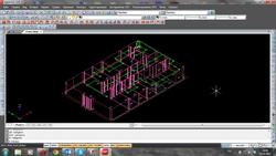 3D-модель проектируемой системы