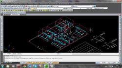 3D-модель кабельных каналов