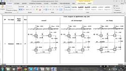 Формирование выходной документации в автоматическом режиме на примере документа (схема нагрузок на фундаменты опор)