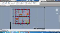 Оформленный план 1-го этажа