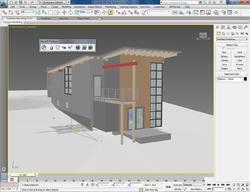 Вид модели в Autodek 3ds Max Design