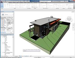Вид модели в Autodesk Revit