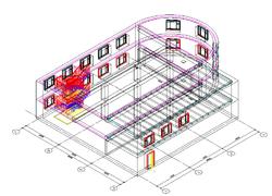 Исходная модель здания