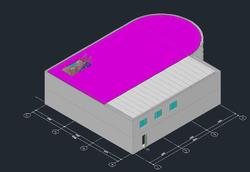 Твердотельная модель здания