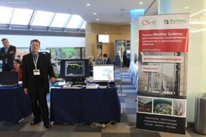 Стенд ГК CSoft на технологической выставке