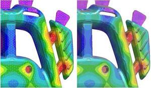 ProCAST 2009.1. Перенос теплового поля на модель с более мелкой сеткой