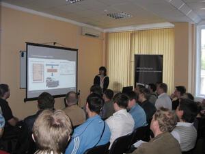 Менеджер по продукту Altium Елена Булгакова рассказала слушателям об основных функциональных возможностях программного продукта и приемах работы с ним. Ключевые моменты были продемонстрированы непосредственно в программе Altium Designer