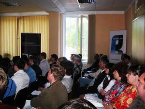 Семинар посетили 39 специалистов из более чем 20 компаний
