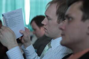 Строгий регламент и интересные темы докладов - залог популярности конференции «Гипротюменнефтегаз». Приятно видеть среди докладчиков и наших представителей