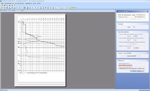 Графики статического зондирования в GeoniCS Инженерная геология (GEODirect)