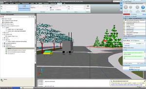 Проезд по запроектированной дороге в Civil 3D 2010