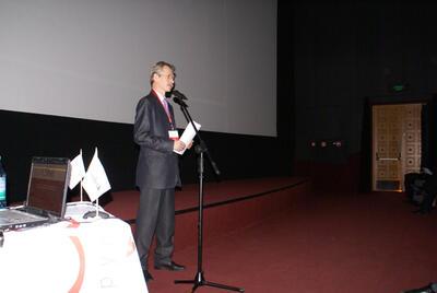 Руководитель CSoft Новосибирск Михаил Литвинов открыл конференцию краткой информацией о компании, ее деятельности и достижениях