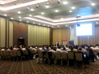 Открытие конференции «Intergraph PPM Russia & CIS User Group Conference 2012»