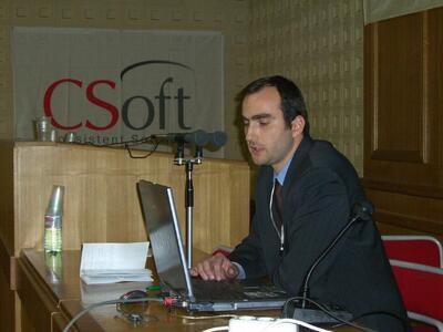 Докладчик - Зернов Кирилл Александрович, эксперт отдела геоинформационных систем компании CSoft