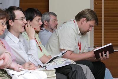Гости секции «Управление проектными работами и технический документооборот»