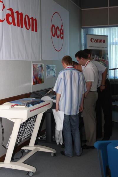 Представленное оборудование вызвало интерес у участников