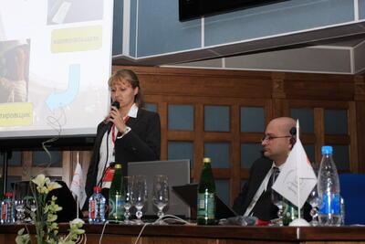 Выступление О. Беляевой, CSoft Кубань