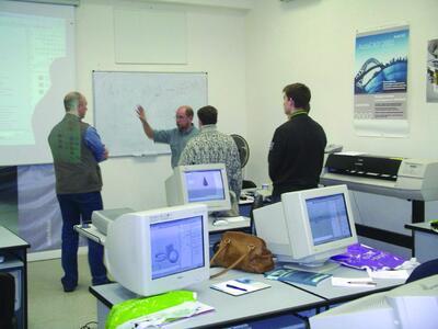 Занятия в Steepler GraphiCS center