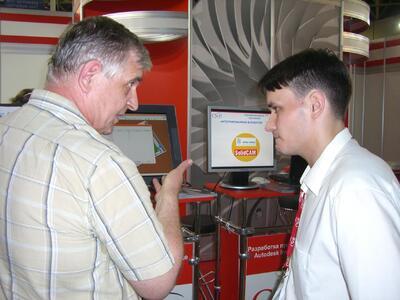 Николай Крепков демонстрирует инструмент быстрого и легкого создания управляющих программ для токарных, фрезерных и электроэрозионных станков с ЧПУ - ПО Solidcam
