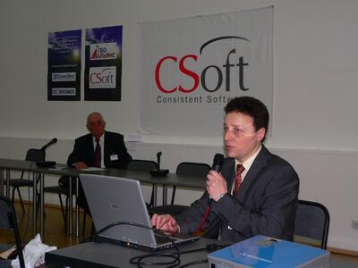 А.М. Ставицкий: Компания CSoft: основные итоги работы на ГИС-рынке и планируемые инновации