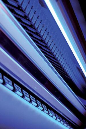Подсветка при печати