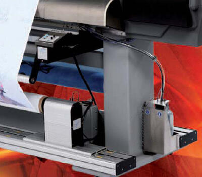 Подача/подмотка носителей до 100 кг.