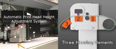 Две системы сушки для плоских и рулонных носителей