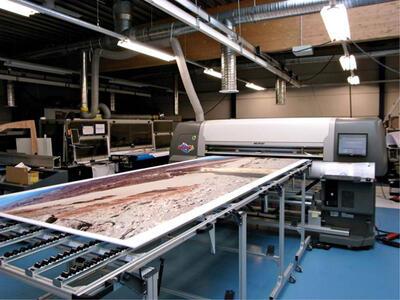 Печать изображений более 4-х метров