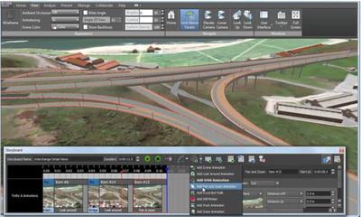 Autodesk InfraWorks помогает проектировщикам завершить предварительные работы по проекту, сгенерировав точный детализированный план в контексте реального окружения