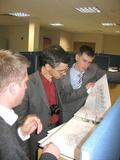 Знакомство с проектами, реализованными проектным бюро AceCad