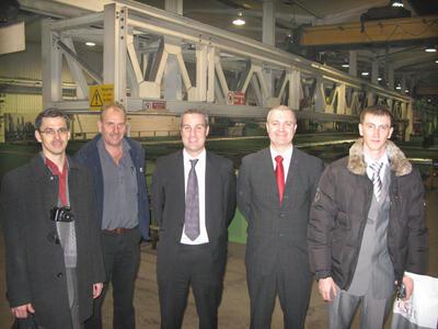 Знакомство с производственным цехом, технологией производства компании Robinson Construction